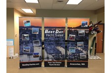 - Tradeshow Display - Retractable Banner - Best Day Yacht Sales - Anacortes, WA