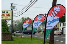 - Image360-Marlton-NJ-Feather-Banner-Peppies-Ice-Cream