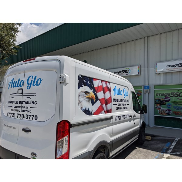 Auto Glo Mobile Detailing Vehicle Decals & Lettering