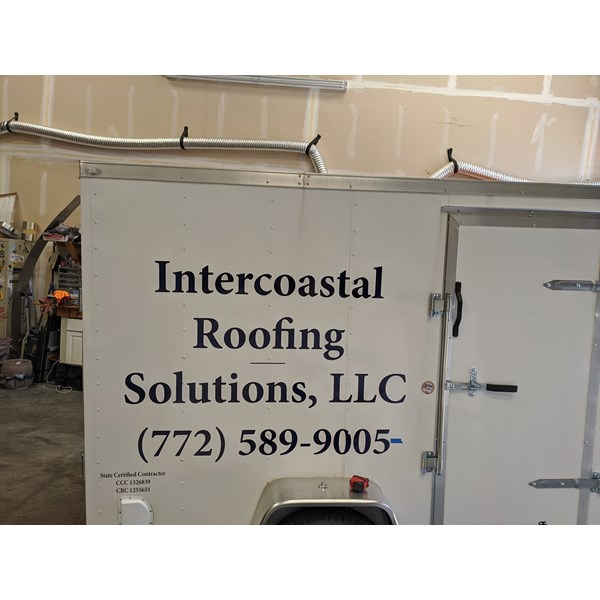 Intercoastal Roofing Solutions LLC Vehicle Decals & Lettering
