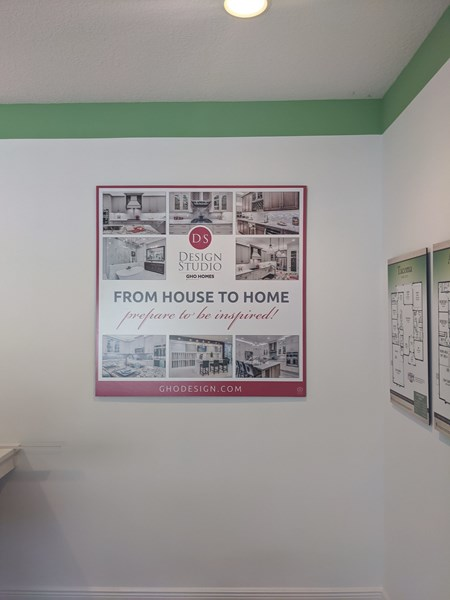 GHO Homes Office Window Perforated Graphics/ Window Decals, Signage & Graphics
